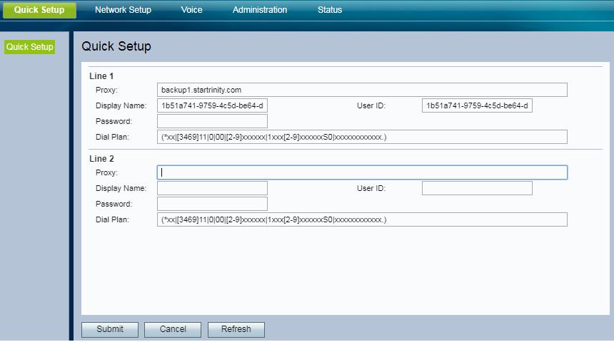 StarTrinity VoIP Status Tutorial